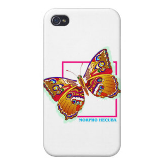 rainbow butterfly two iPhone 4/4S covers