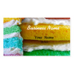 Rainbow Cake Pack Of Standard Business Cards