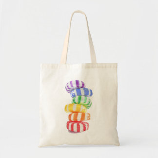 Rainbow Candy Budget Tote Budget Tote Bag