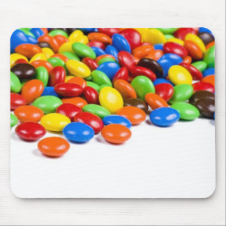 Rainbow candy mouse mat