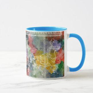 Rainbow Carousel Mug