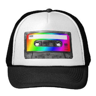 Rainbow Cassette Tape Cap