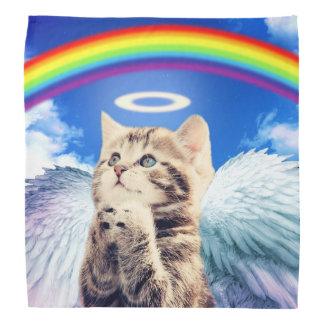 rainbow cat - cat praying - cat - cute cats bandana