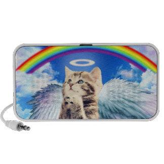 rainbow cat iPod speakers