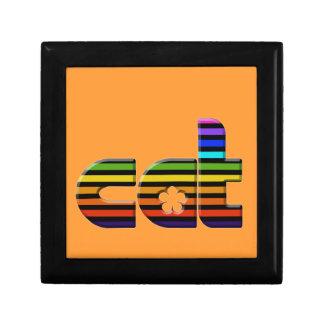 rainbow cat keepsake boxes