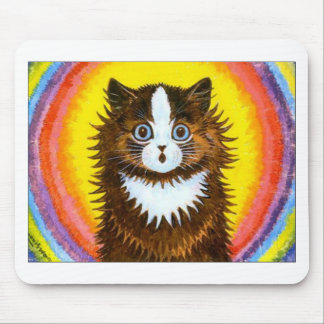 Rainbow Cat Mouse Mat