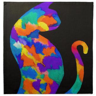 Rainbow Cat Napkin