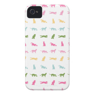 Rainbow Cat Pattern iPhone 4 Case