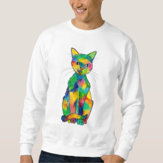 Rainbow Cat Sweatshirt