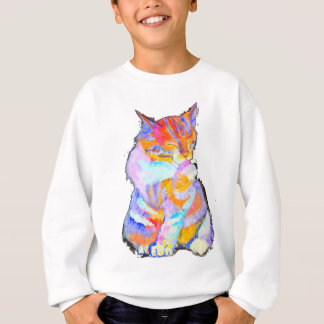 Rainbow Cat Sweatshirt