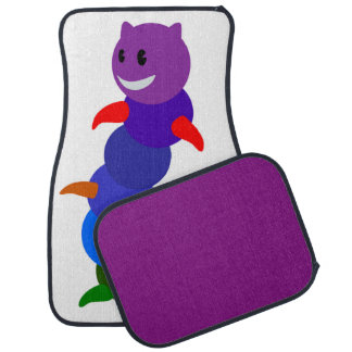 RAINBOW CATERPILLAR CAR MAT