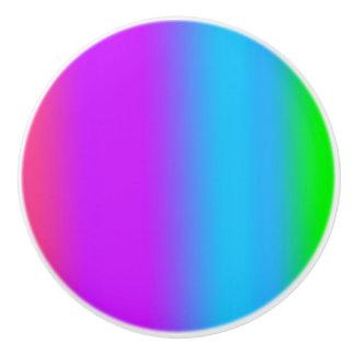Rainbow Ceramic Knob