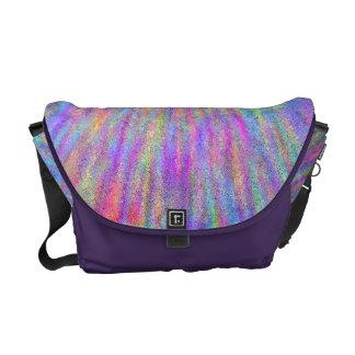 Rainbow Chalk Courier Bag