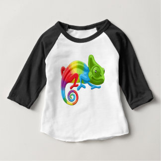 Rainbow Chameleon Baby T-Shirt
