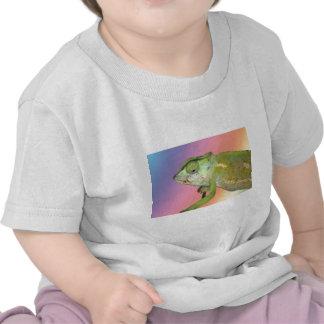 Rainbow chameleon tshirts