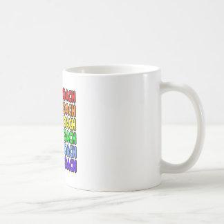 Rainbow Cheer Coach Coffee Mugs
