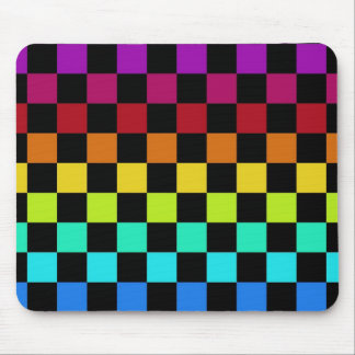 Rainbow cheked mouse DAP Mousepads