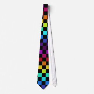 Rainbow Chess Tie