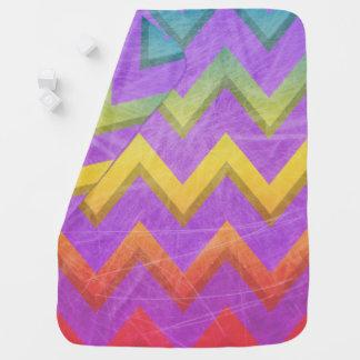 Rainbow Chevron by Shirley Taylor Baby Blanket