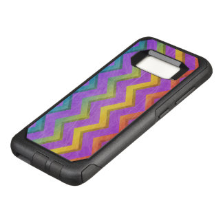 Rainbow Chevron by Shirley Taylor OtterBox Commuter Samsung Galaxy S8 Case