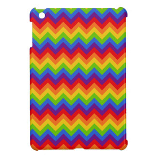 Rainbow Chevron iPad Mini Covers