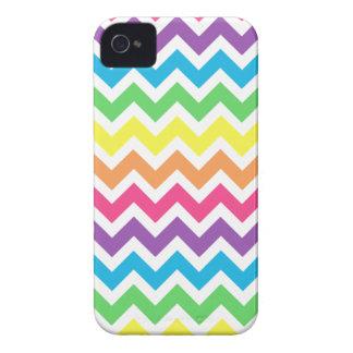 Rainbow Chevron iPhone 4 Cases