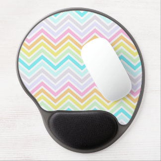 Rainbow Chevron Mouse Pad Gel Mouse Pad