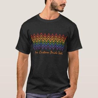 Rainbow Chevron Pattern custom shirts & jackets
