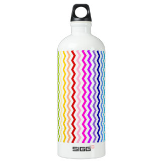 Rainbow chevron SIGG traveller 1.0L water bottle