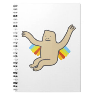 Rainbow Chimp Notebook