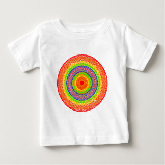 Rainbow Circles Baby T-Shirt