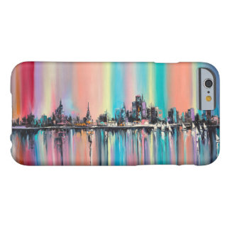 Rainbow city barely there iPhone 6 case