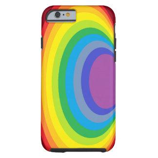 Rainbow Clam Tough iPhone 6 Case
