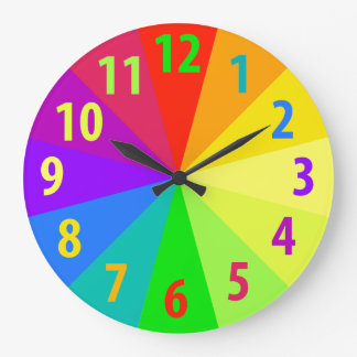 Rainbow Clocks