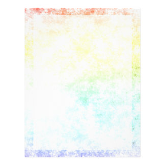 Rainbow Cloud Background Customize or Stay Cloudy 21.5 Cm X 28 Cm Flyer