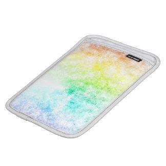 Rainbow Cloud Background Customize or Stay Cloudy iPad Mini Sleeve