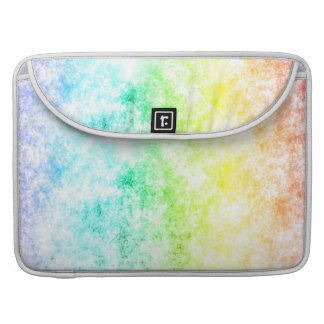 Rainbow Cloud Background Customize or Stay Cloudy MacBook Pro Sleeves