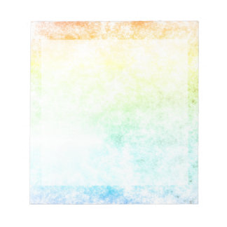 Rainbow Cloud Cloudy Day Notepad