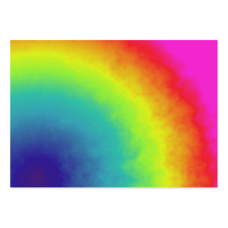 rainbow cloud pack of chubby business cards