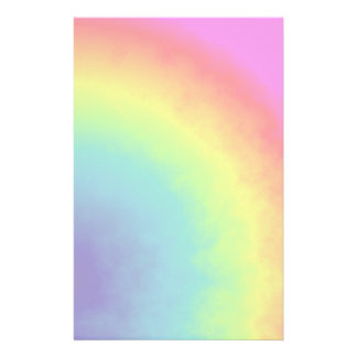 rainbow cloud stationery
