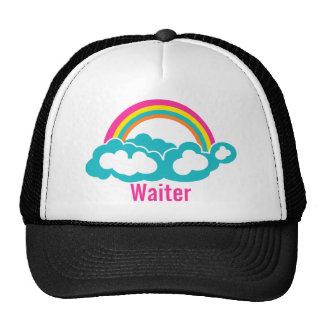 Rainbow Cloud Waiter Cap