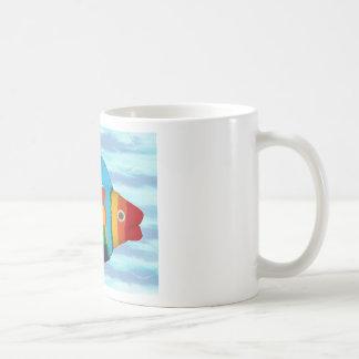 """Rainbow Clown Fish"" Coffee Mug"