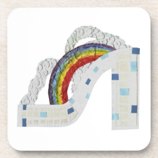Rainbow Coaster Cork Coasters
