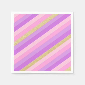Rainbow Cocktail Paper Napkins Paper Napkin