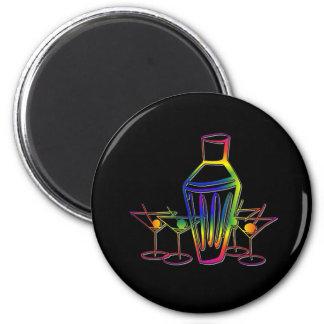 Rainbow Cocktails Magnet