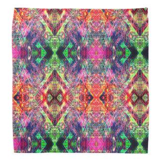 Rainbow Color Abstract Pattern Bandana