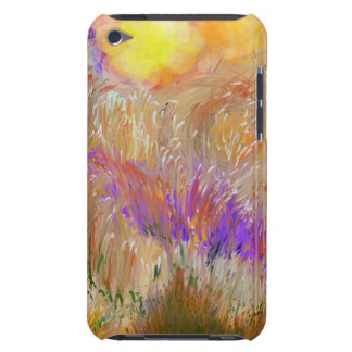 Rainbow Color Field Digital Painting iPod Touch Covers