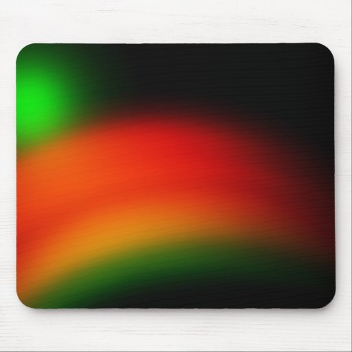 rainbow color mouse pad