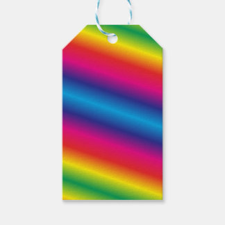 Rainbow Colored Gift Tags