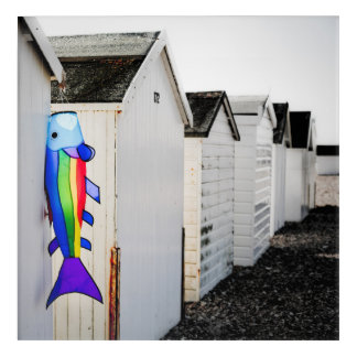 Rainbow Colored Kite Acrylic Print